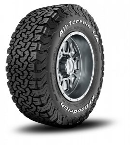 All Terrain band van BFGoodrich